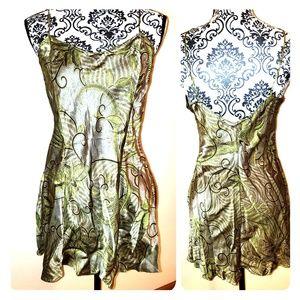 NWOT Silk Slip Gown